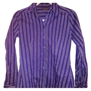 New York & Co stretch button up